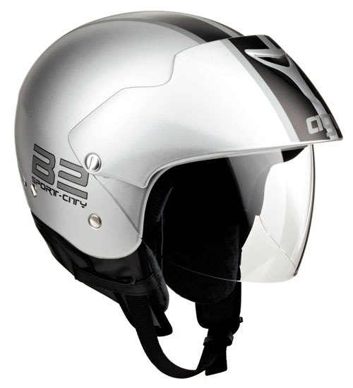 Casco moto Agv New Bali Multi B2 Plain silver