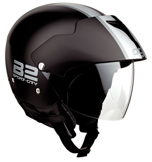 Casco moto Agv New Bali Multi B2 Plain nero