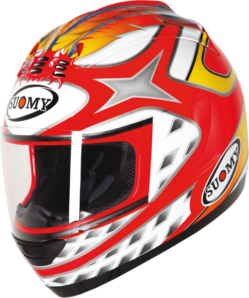 Casco moto integrale Suomy Trek Indian