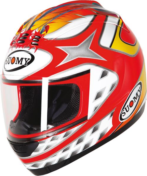 SUOMY Trek Indian full-face helmet
