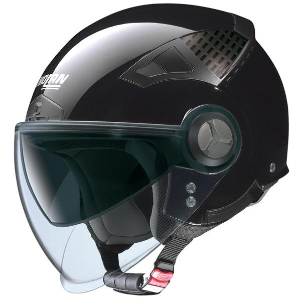 Casco moto jet Nolan N33 Classic nero lucido