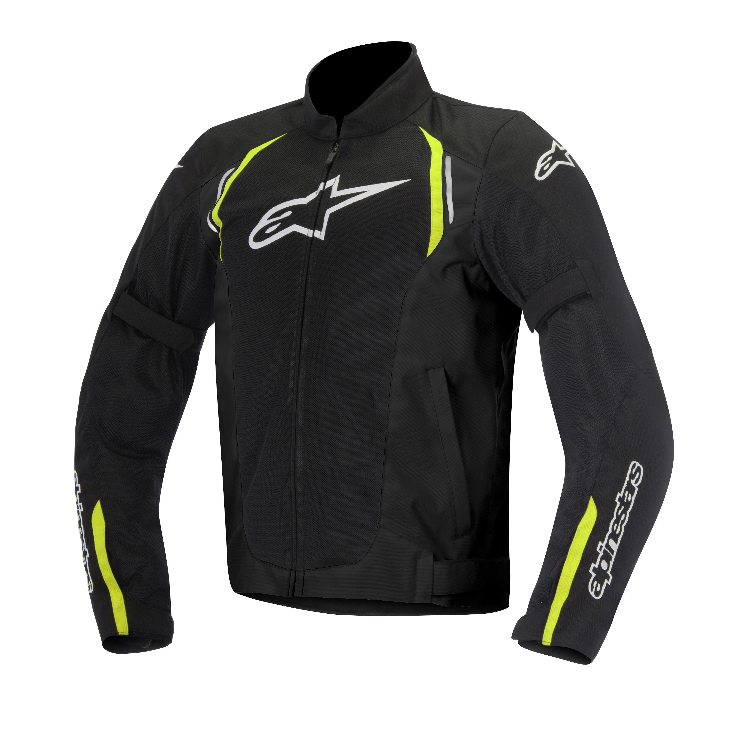 Giacca moto Alpinestars Ast Air TX nero giallo fluo