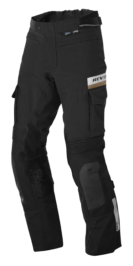 Pantaloni moto Rev'it Dominator GTX Nero Accorciato