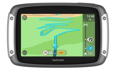 Navigatore moto TomTom Rider 400