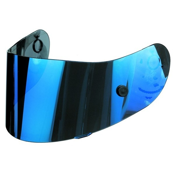 Visiera iride blu Agv Street 1 per caschi MDS antigraffio
