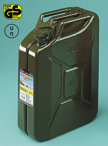Military metal jerry-can 20 litres Lampa