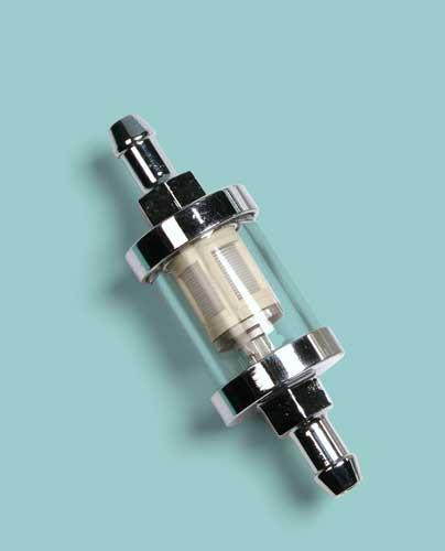 Motor-sport  filtro carburante trasparente Nylon small