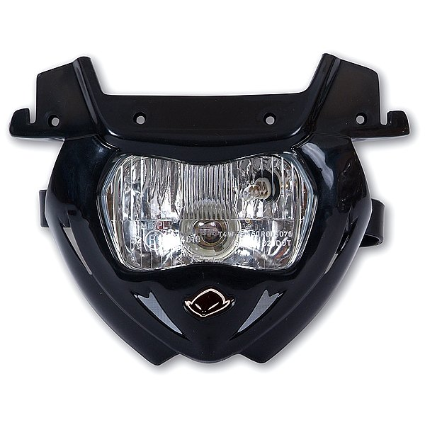 Replacement plastic for Panther headlight lower part