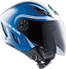 Casco moto Agv Blade Multi Start blu