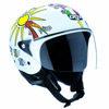 Casco moto Agv New Bali Top White Zoo