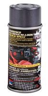 Vernice spray effetto alluminio anodizzato - Nero