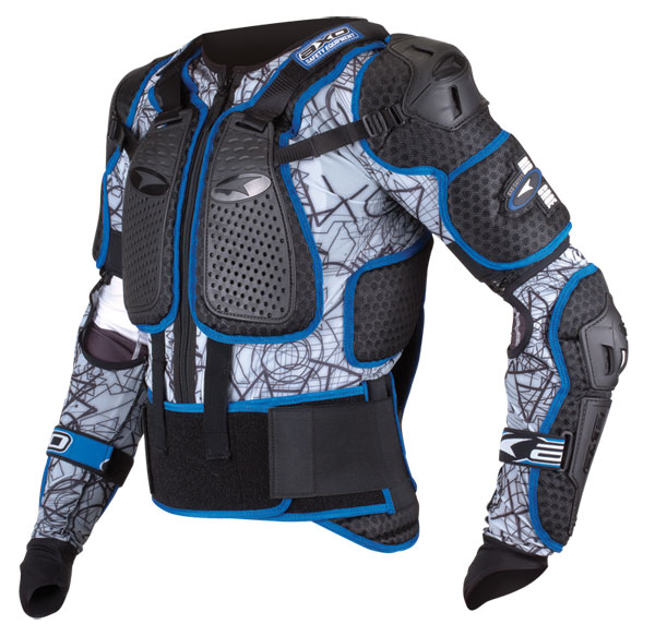 Complete protection AXO Air Cage PRO Black Blue