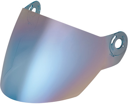 Visiera per Nolan N42E blu metalizzato
