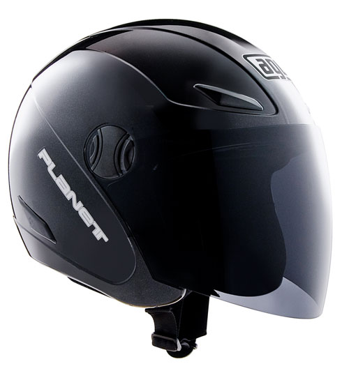 Casco moto Agv Planet nero lucido