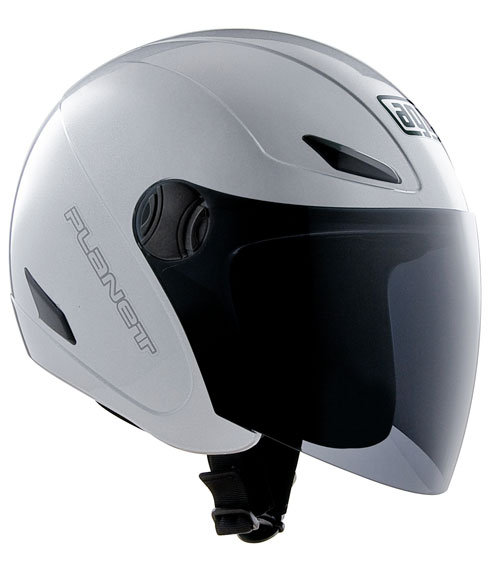 Casco moto Agv Planet silver