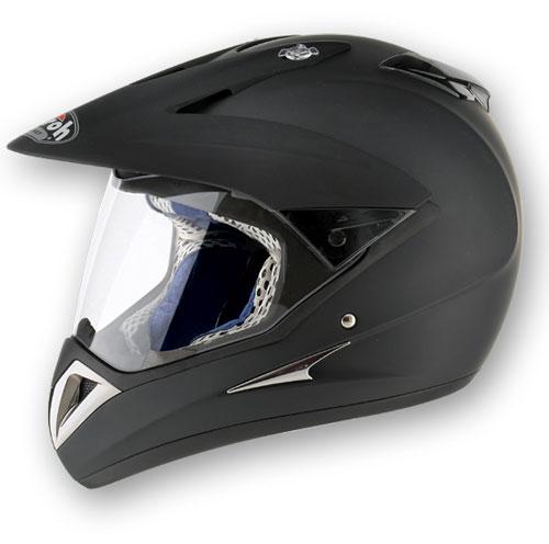 Casco moto Airoh S4 Color nero opaco
