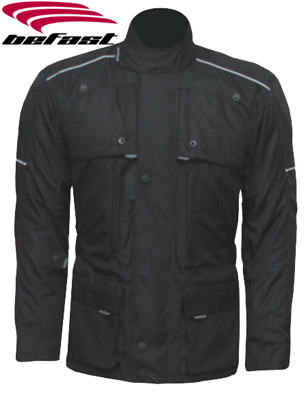 BEFAST Taurus Textile Jacket - Col. Black