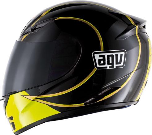 Agv K-3 Top Gothic 46 black