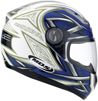 Casco Mds by Agv Sprinter Multi Heritage bianco-blu