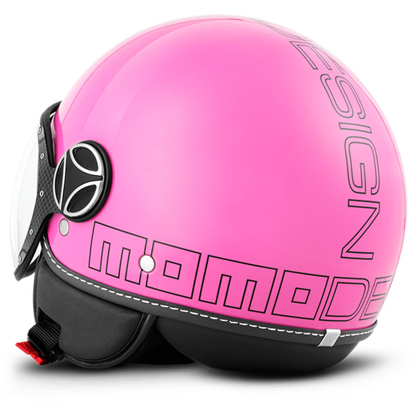 Momo Design Fighter Jet Helmet Glossy Pink Glam
