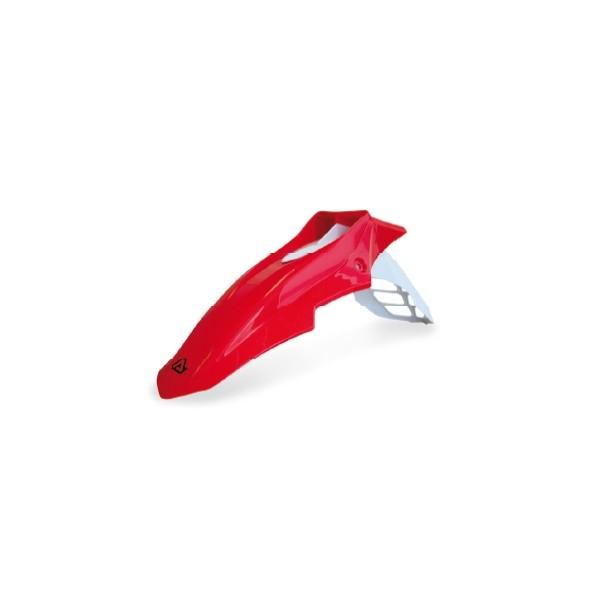 Front Fender Acerbis Evo Supermoto White Red