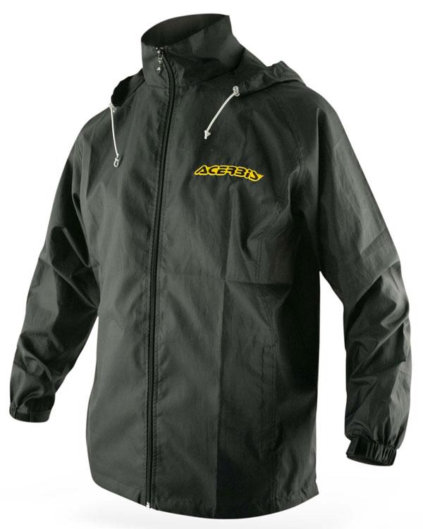 Raincoat Acerbis Black