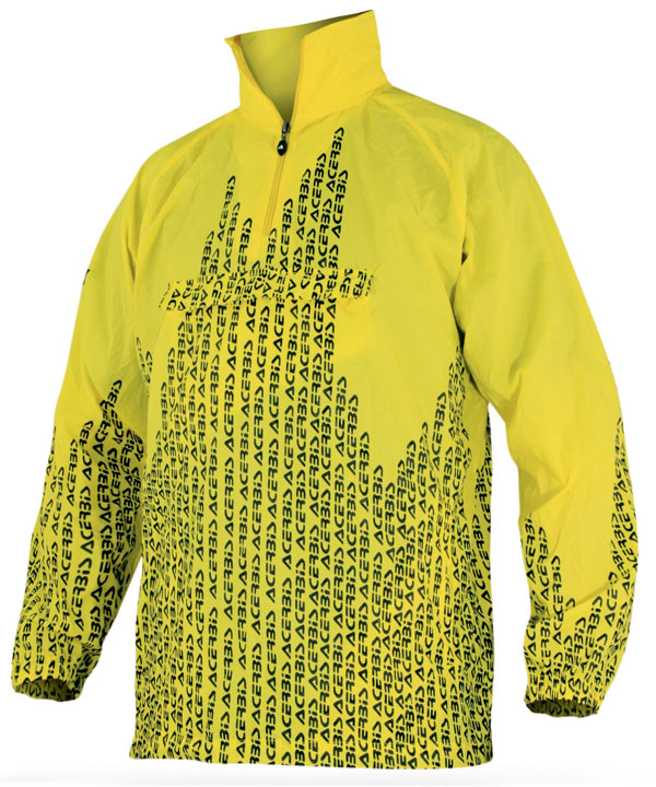 No Rain Acerbis waterproof jacket Yellow