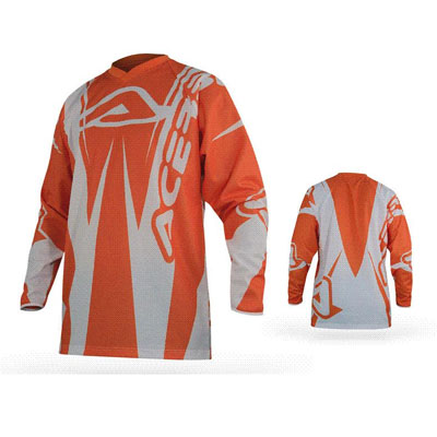 Acerbis Motocross Jersey Motobrand Orange