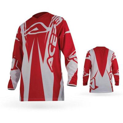 Maglia Motocross Acerbis Motobrand Rosso