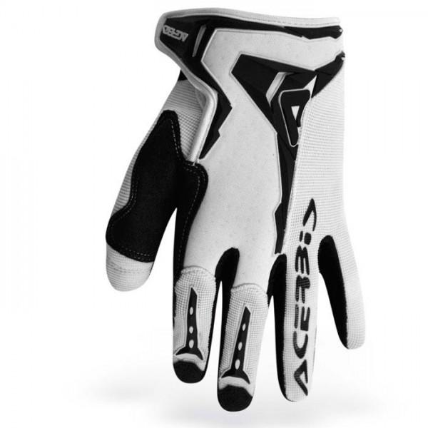 Gloves Acerbis Motocross Mx-x1 White