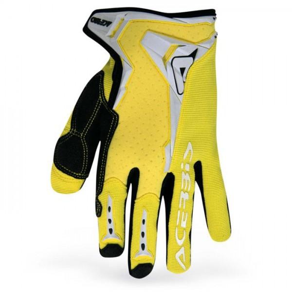 Gloves Acerbis Motocross Mx-x1 Yellow