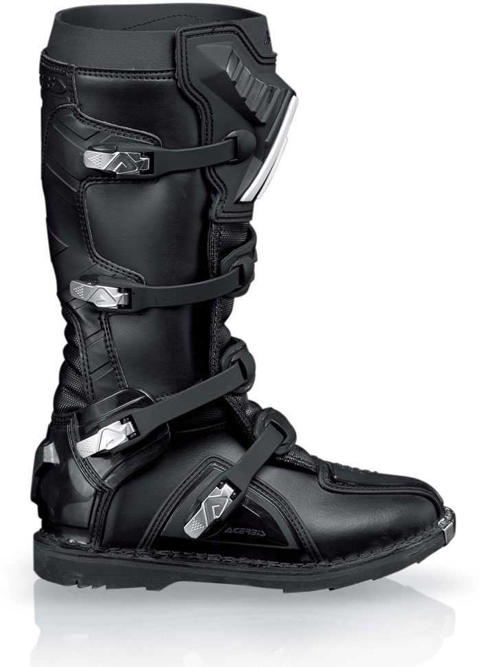 Acerbis Motocross Boots Black Graffiti