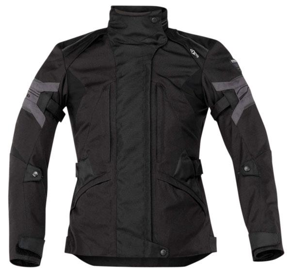 Motorcycle jacket woman Ramsey Acerbis Lady Black