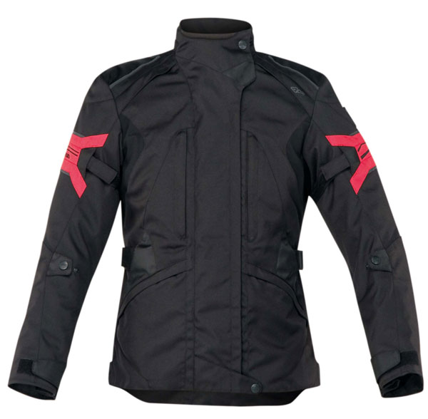 Motorcycle jacket woman Ramsey Acerbis Lady Red