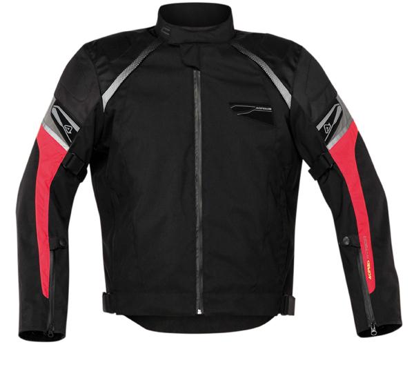 Motorcycle jacket Acerbis St John Red