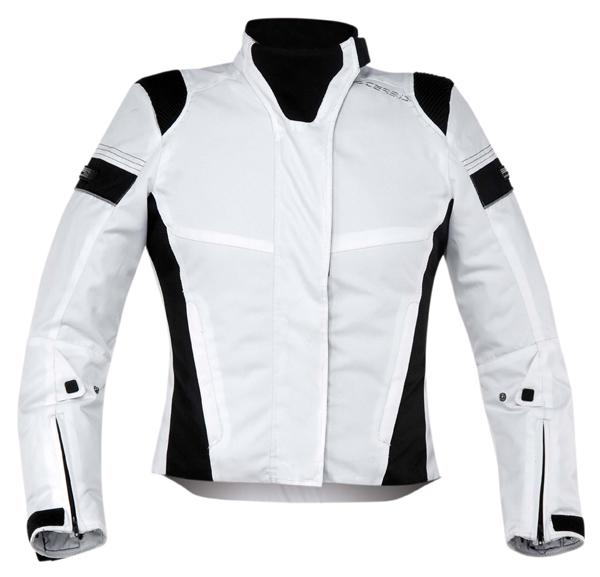 Motorcycle jacket woman Acerbis White Lady Castletown