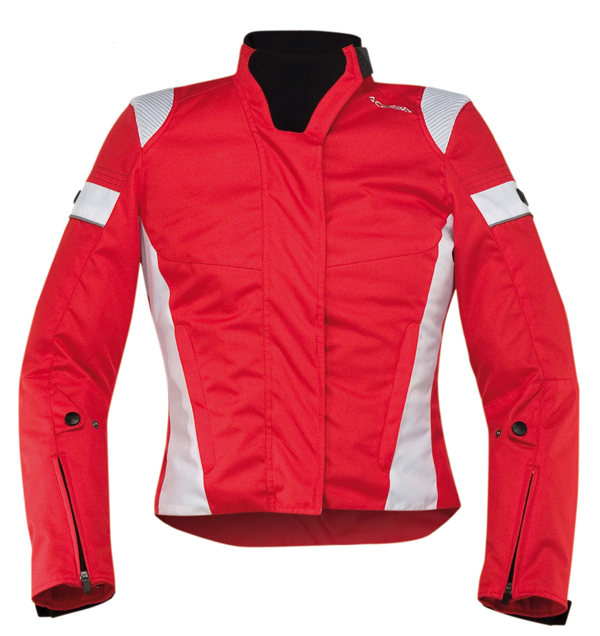 Giacca moto donna Acerbis Castletown Lady Rosso