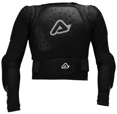 Pettorina motocross Acerbis MX Jacket soft Nero