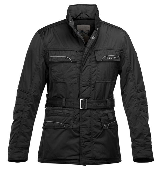 Acerbis Black motorcycle jacket Brooklin