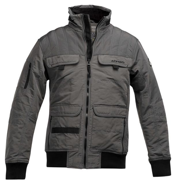 Acerbis Motorcycle Jacket Grey Broadway