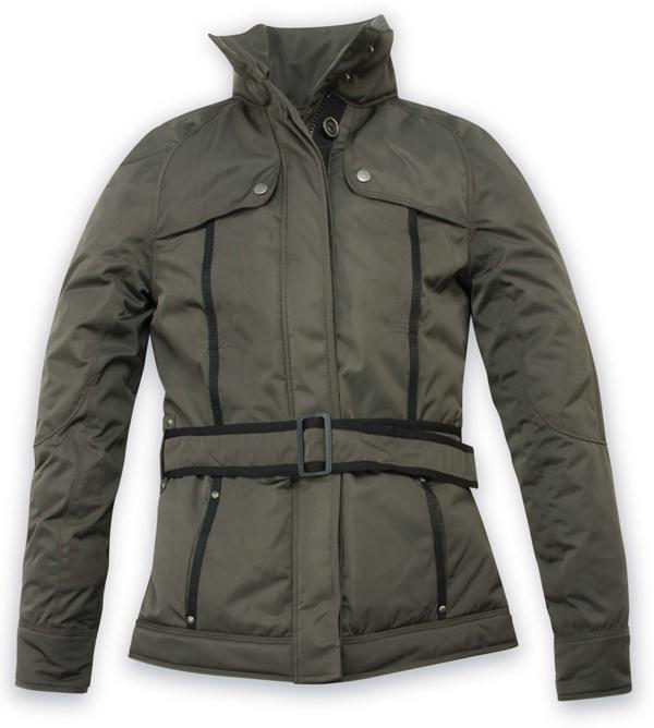 Motorcycle jacket woman Acerbis Malibu Dark Green