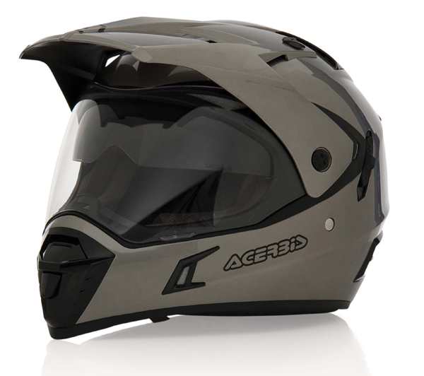 Motocross helmet Acerbis Active Grey