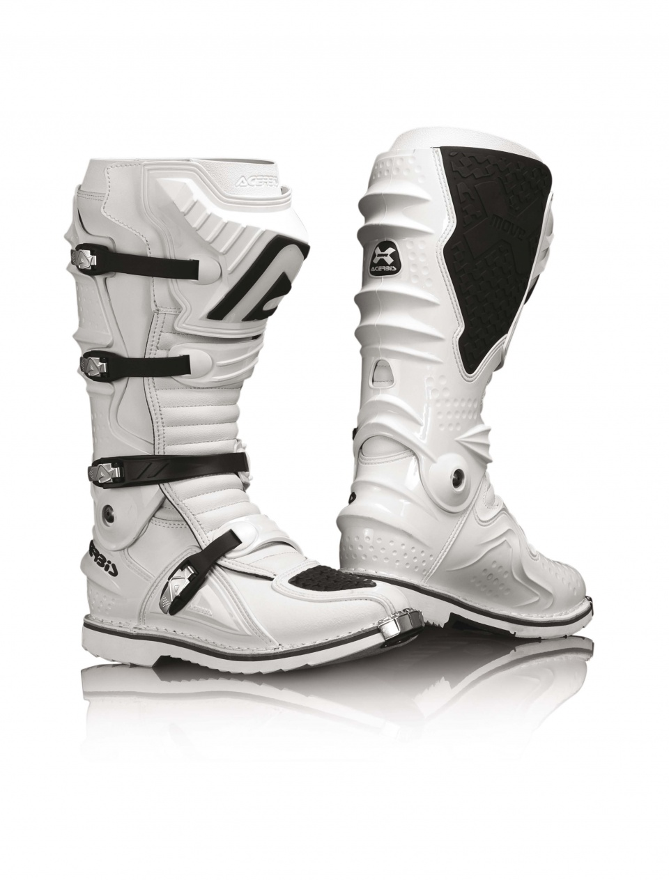 Stivali Motocross Acerbis X-move Bianco