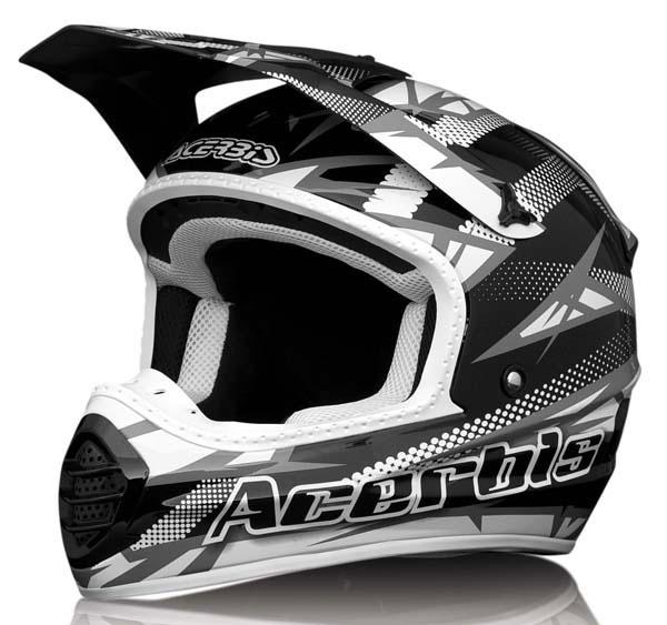 Casco Acerbis Motocross Atomik Nero
