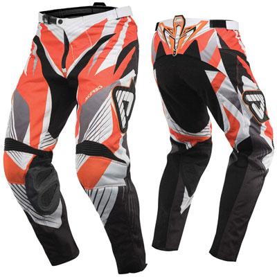Pantaloni motocross Acerbis Impact Arancio