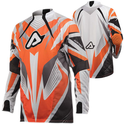 Acerbis Impact Motocross Jersey Orange
