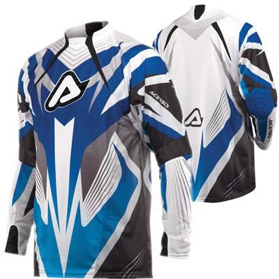 Maglia motocross Acerbis Impact Blu