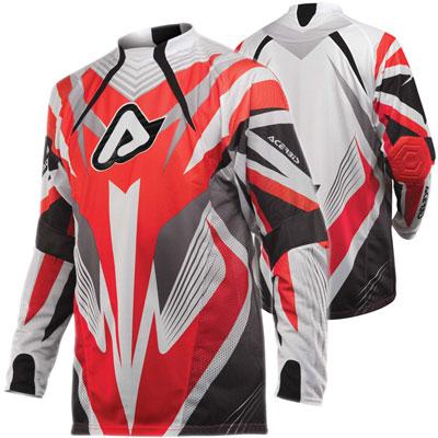 Acerbis Impact Motocross Jersey Red