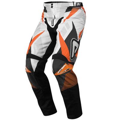 Motocross Pants Acerbis Profile Orange