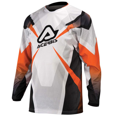 Acerbis Motocross Jersey Orange Profile